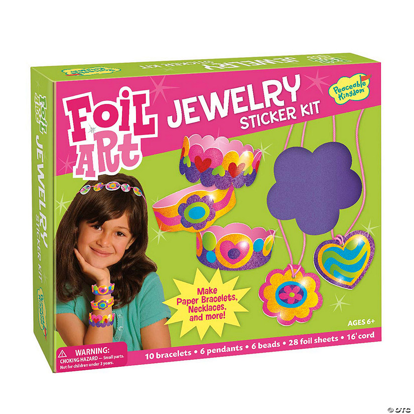Jewelry Sticker Kit Foil Art Audio Thumbnail