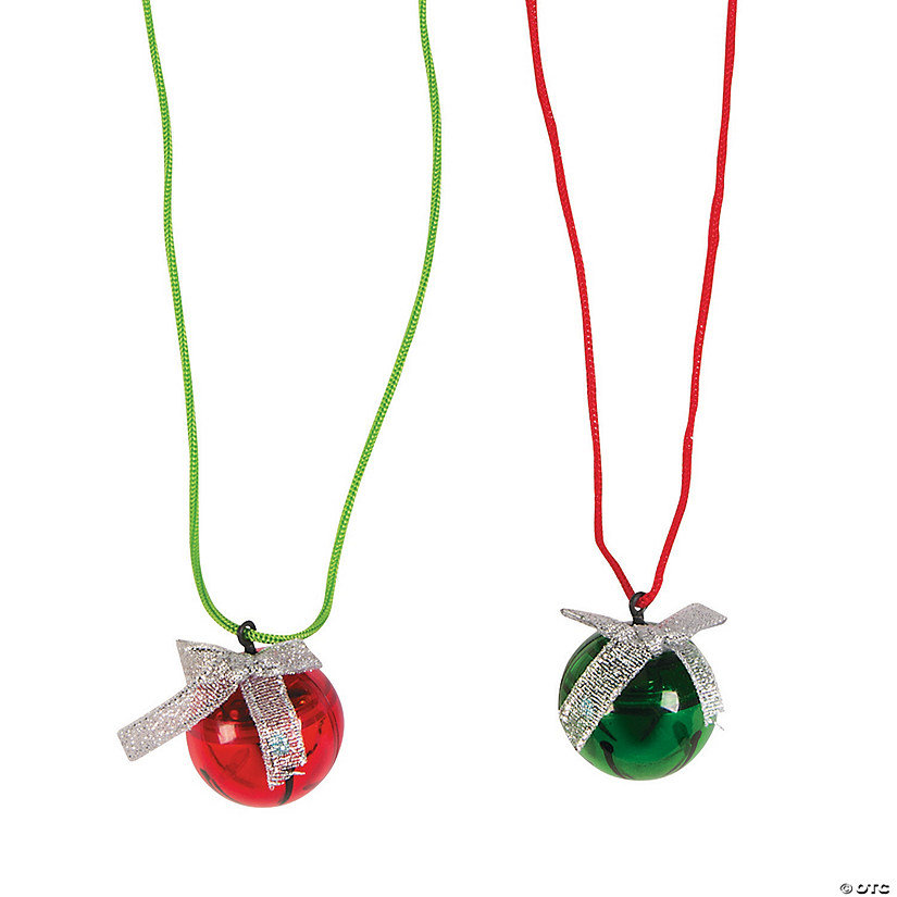 Jingle Bell Light-Up Necklaces Audio Thumbnail