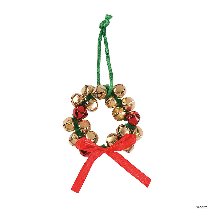 Jingle Bell Wreath Christmas Ornaments Craft Kit Audio Thumbnail