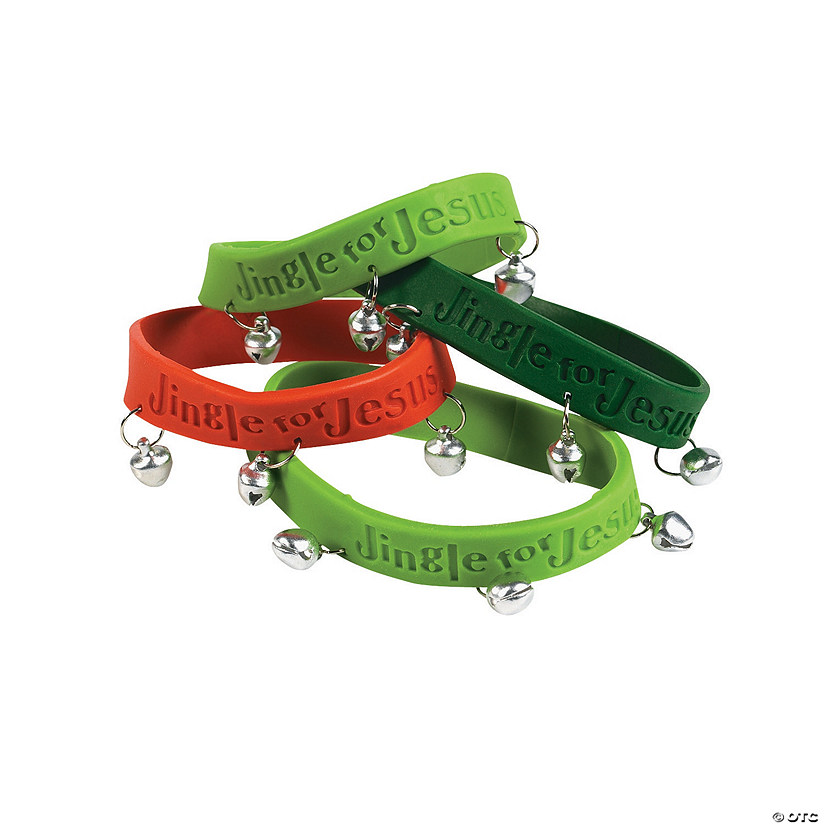 Jingle for Jesus Rubber Bracelets with Bells Audio Thumbnail