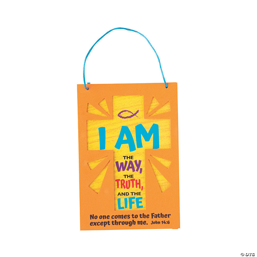 John 14:6 Sign Craft Kit Audio Thumbnail