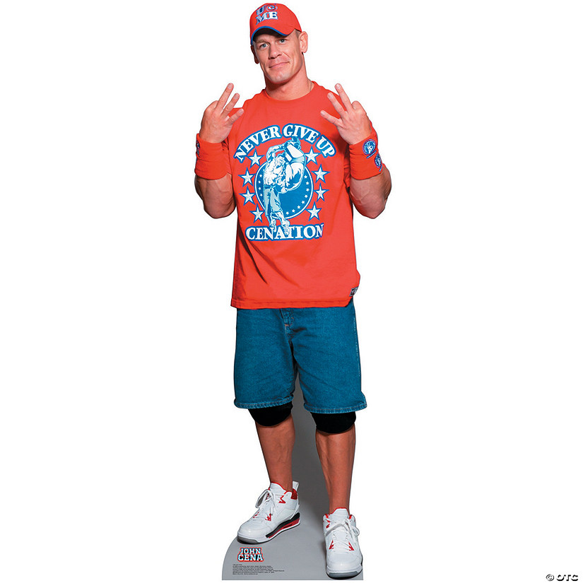 John Cena with T-Shirt - WWE Cardboard Stand-Up Audio Thumbnail