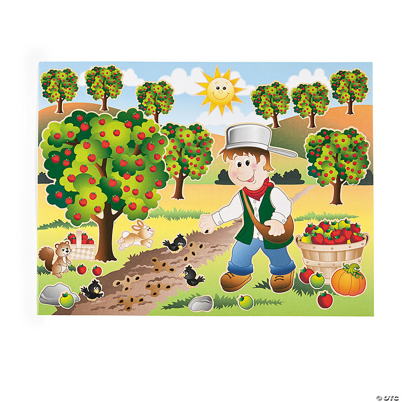 Johnny Appleseed Sticker Scenes Audio Thumbnail