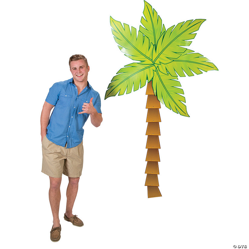 Jointed Palm Tree Cardstock Cutout
