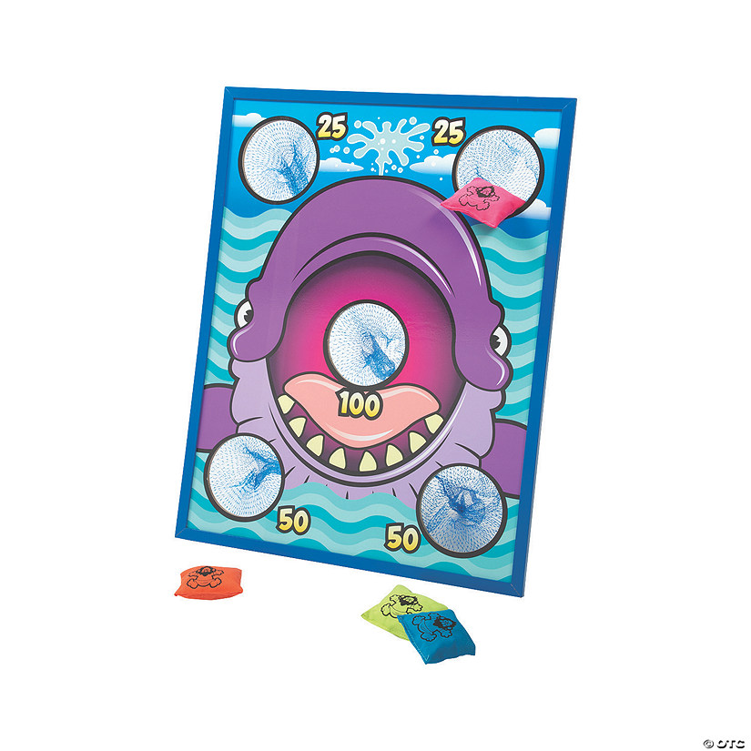Jonah & the Whale Bean Bag Toss Game Image Thumbnail