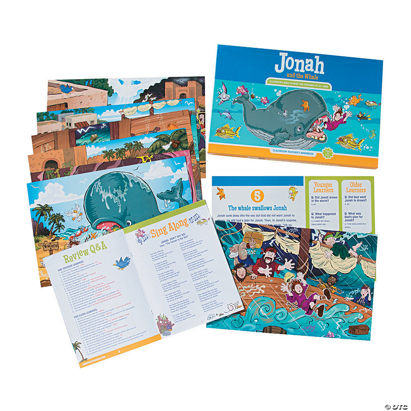 Jonah & the Whale Teacher Companion
