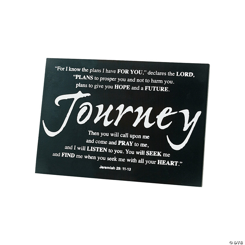 Journey Tabletop Graduation Plaque Audio Thumbnail