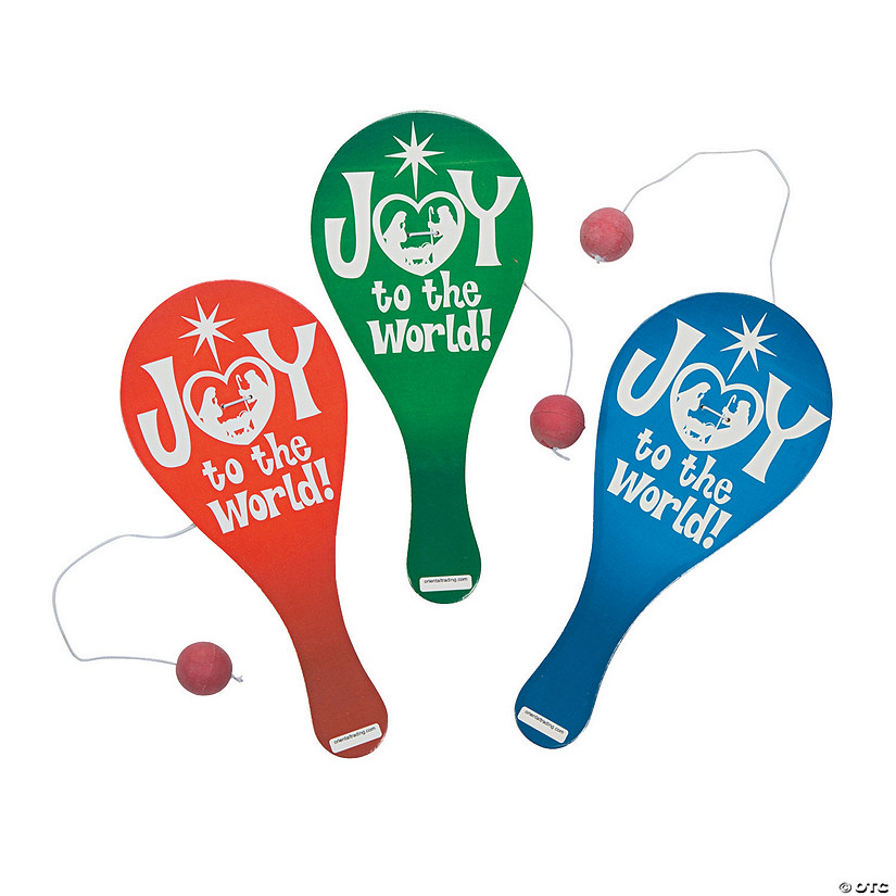 Joy To the World Paddle Ball Games Audio Thumbnail