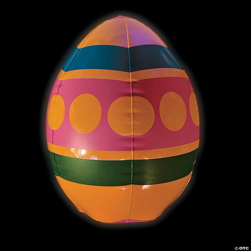 Jumbo Inflatable Light Up Eggs