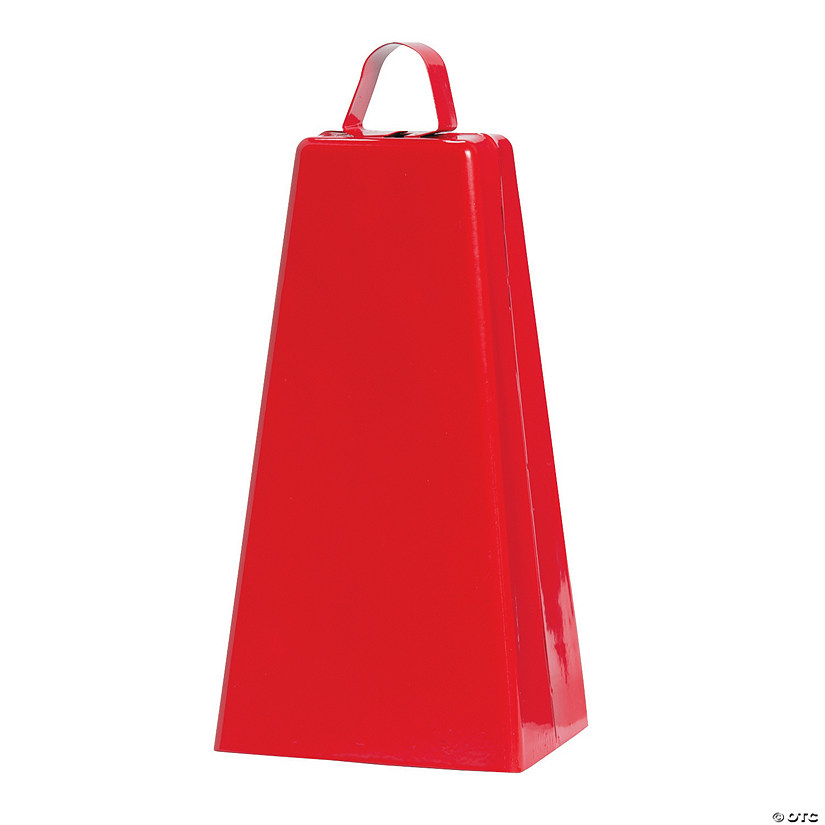 Jumbo Red Cowbell Image Thumbnail