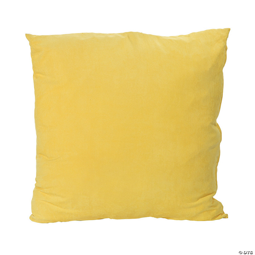 Jumbo Yellow Floor Pillow
