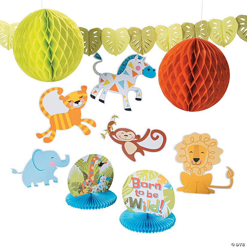 Jungle Baby Shower Decorating Kit