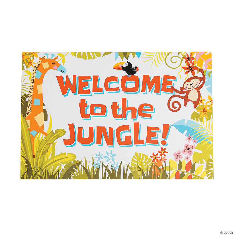 Jungle Baby Shower Sign Audio Thumbnail