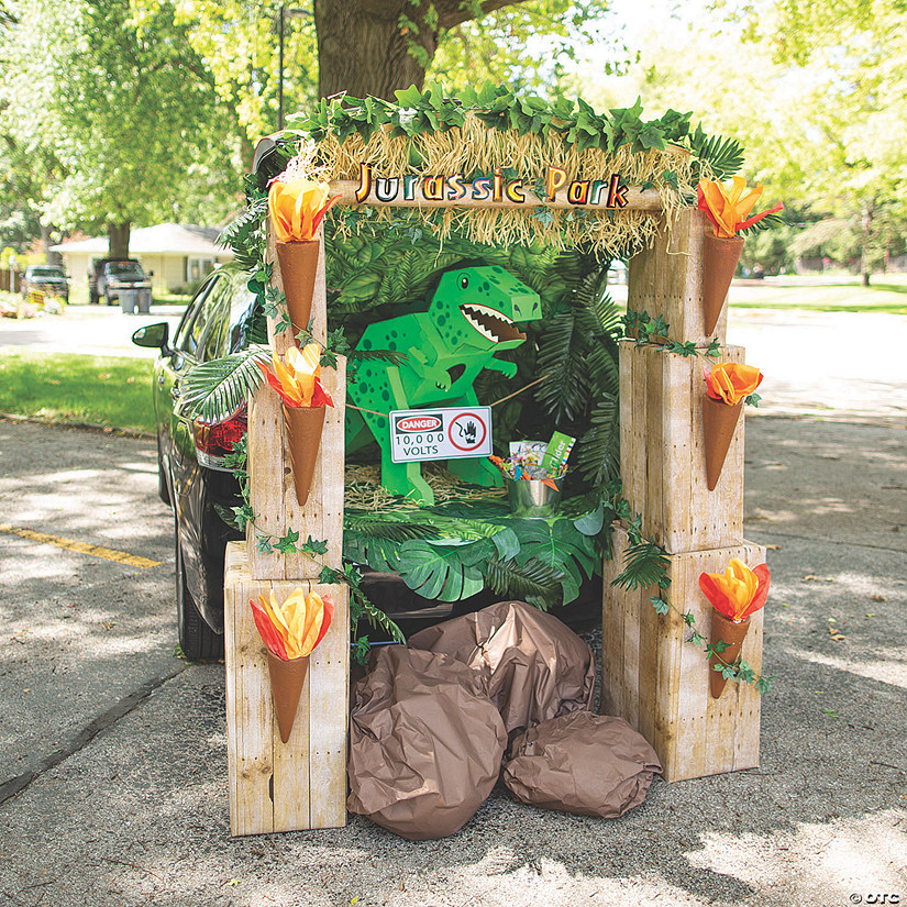 Jurassic Park™ Trunk-or-Treat Decorating Kit Image Thumbnail