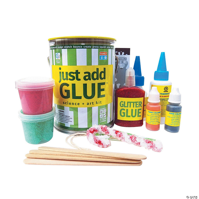 Just Add Glue™ Science + Art Boredom Buster Kit Image Thumbnail