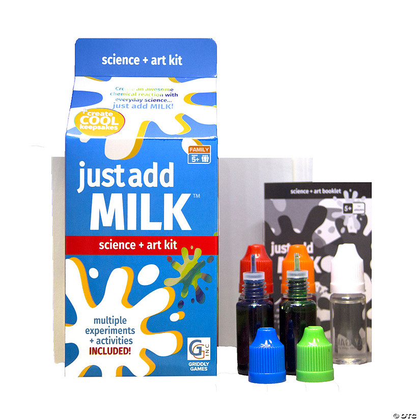 Just Add Milk™ Science + Art Boredom Buster Kit Image Thumbnail