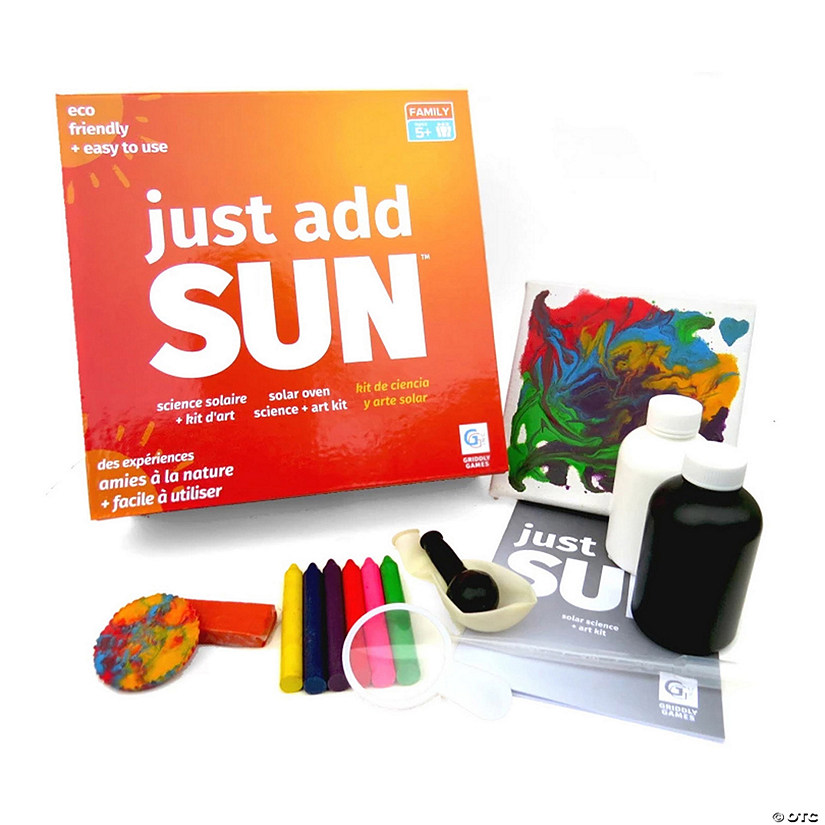 Just Add Sun™ Solar Science + Art Boredom Buster Kit Image Thumbnail