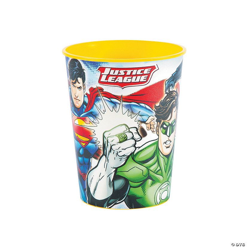 Justice League™ Plastic Tumblers Audio Thumbnail