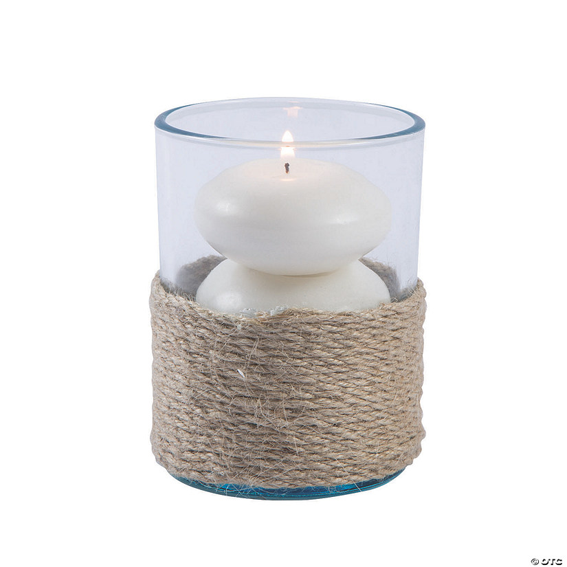 Jute-Wrapped Votive Candle Holders Audio Thumbnail