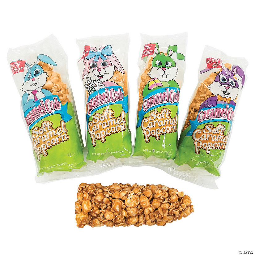 Kathy Kaye<sup>&#174;</sup> Easter Soft Caramel Popcorn Cobs<sup>&#174; </sup>- 12 Pc. Audio Thumbnail