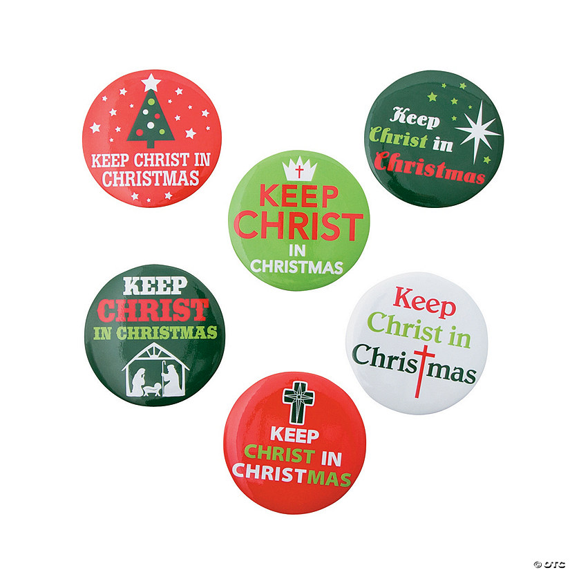 Keep Christ in Christmas Buttons Audio Thumbnail