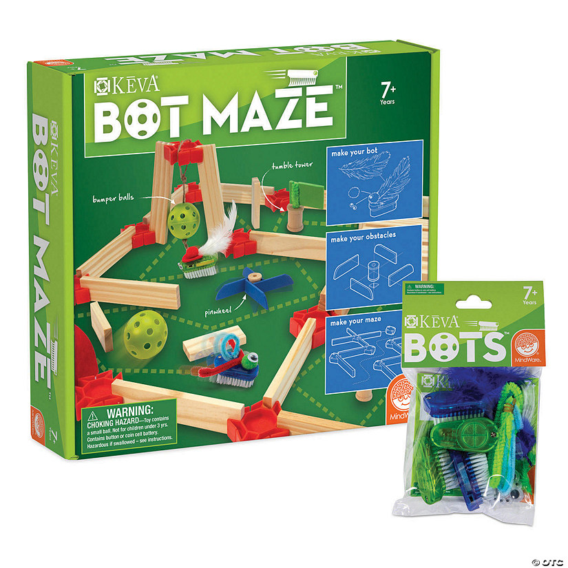 KEVA Bot Maze and Bots: Set of 2 Image Thumbnail