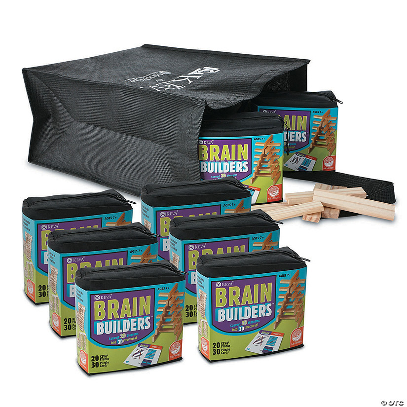 KEVA Brain Builders: Classroom Pack Set of 8 Audio Thumbnail