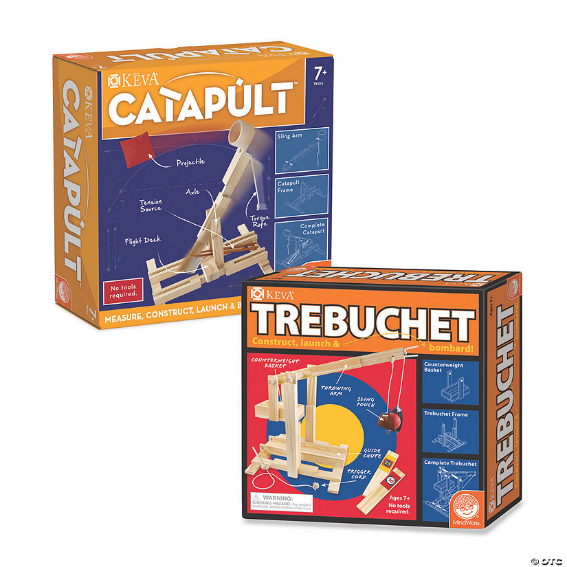 KEVA Catapult and Trebuchet: Set of 2 Image Thumbnail