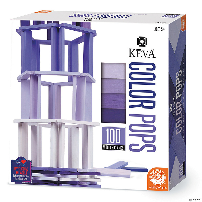 KEVA Color Pops: Purple