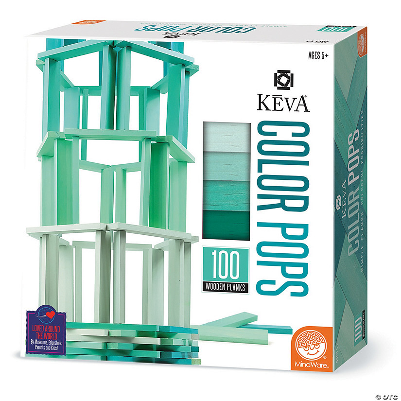 KEVA Color Pops: Teal Audio Thumbnail