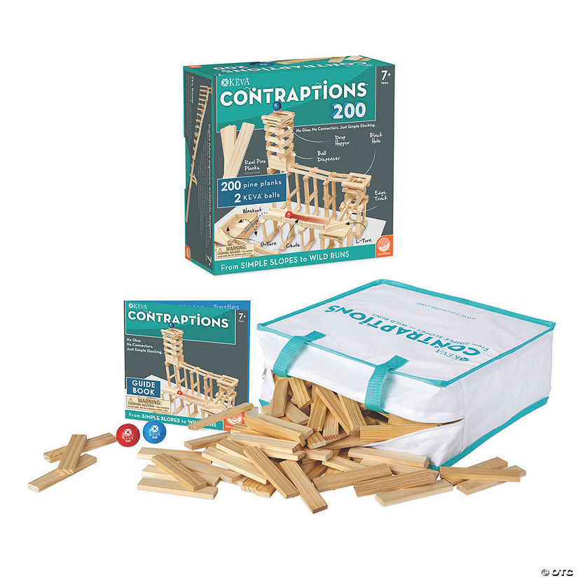 KEVA: Contraptions Set of 2 with FREE Bonus Planks