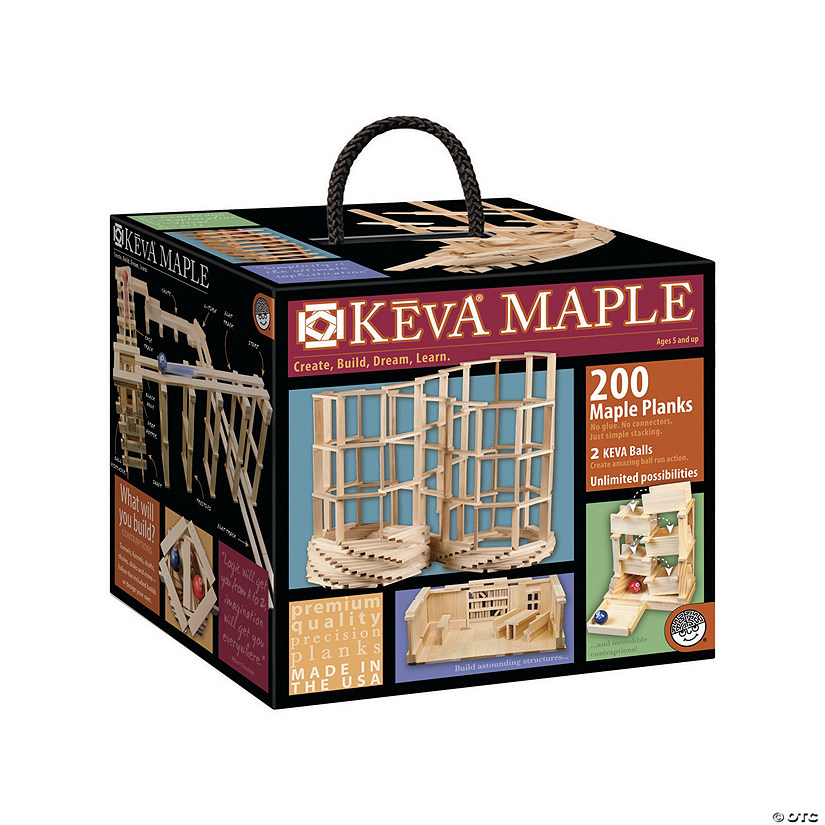 KEVA Maple 200 Plank Set Audio Thumbnail