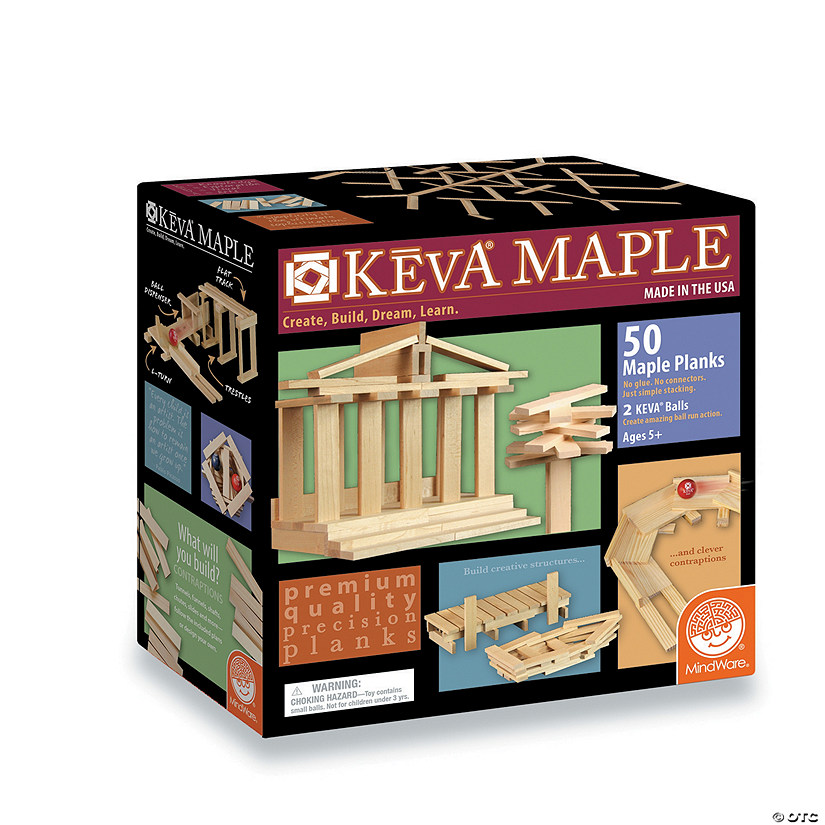 KEVA Maple: 50 Plank Set Image Thumbnail