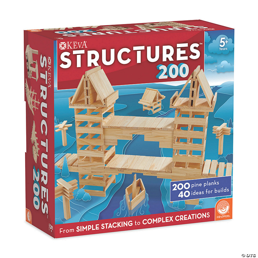 KEVA Structures 200 Plank Set Audio Thumbnail