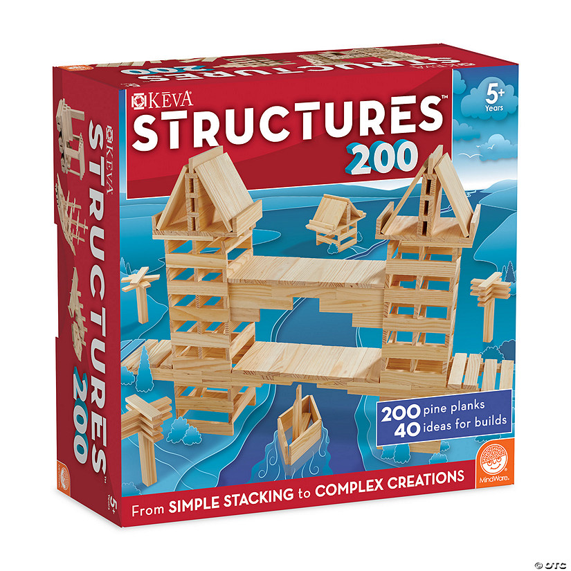 KEVA: Structures 200 plus FREE Bonus Planks