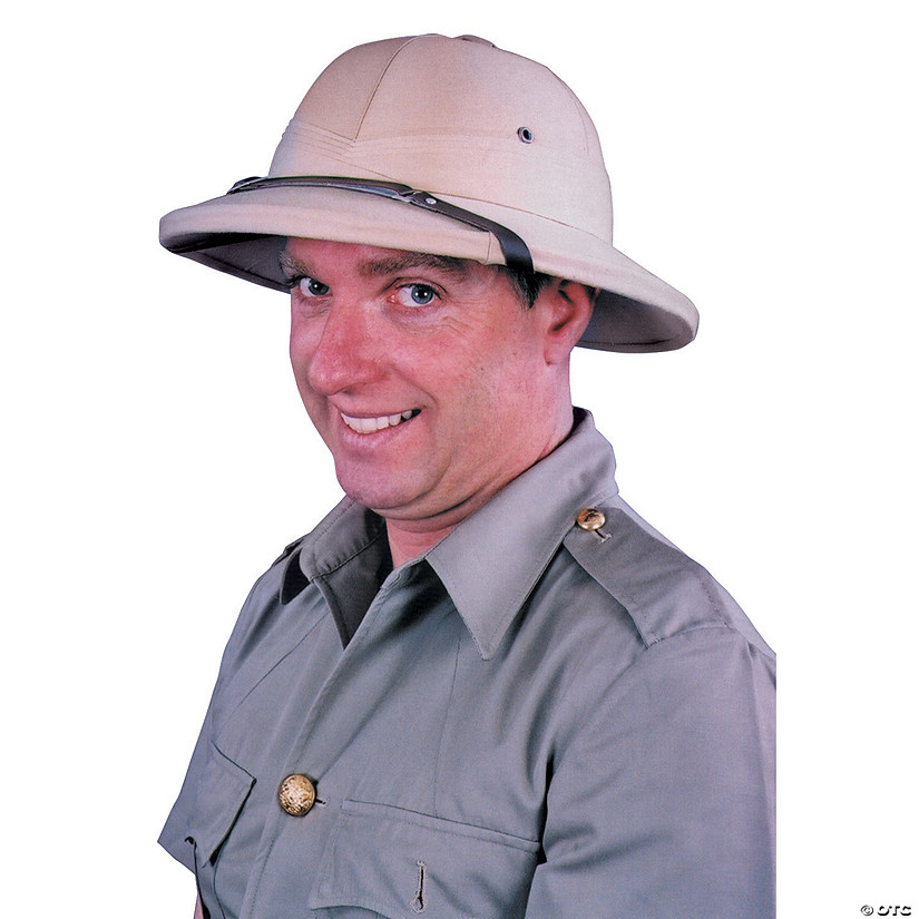 Khaki Indian Pith Hat