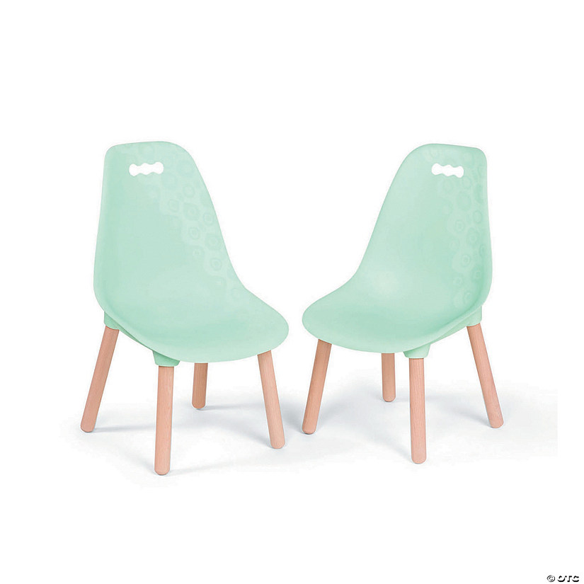 Kid Century Modern Chair Set: Mint Audio Thumbnail