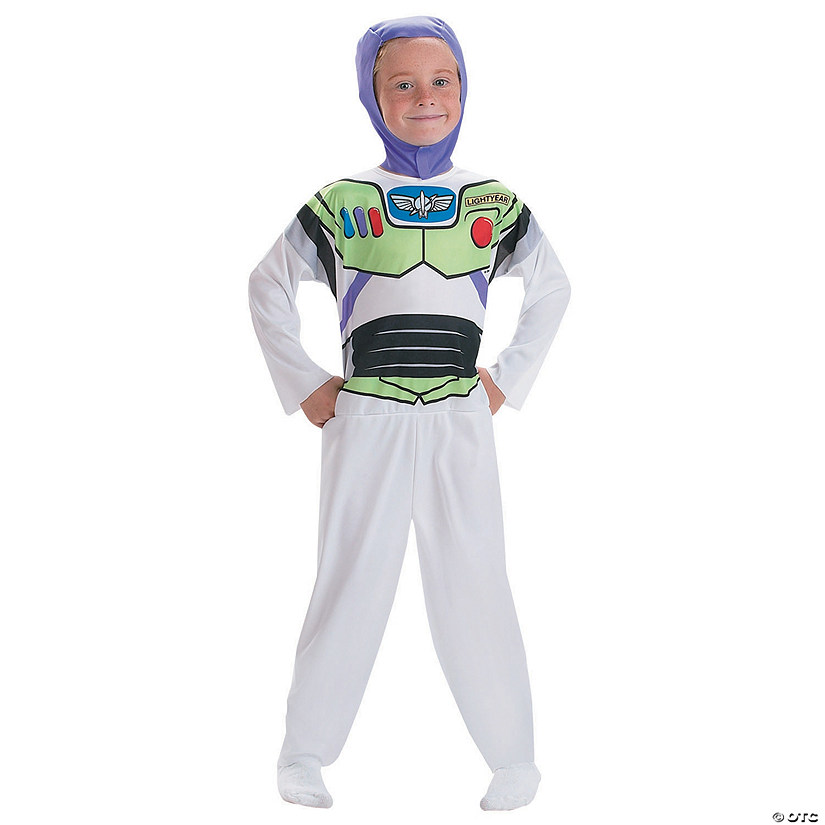 Kid's Basic Toy Story Buzz Costume - Small Audio Thumbnail