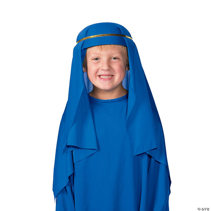 Kid's Dark Blue Nativity Hat Image Thumbnail