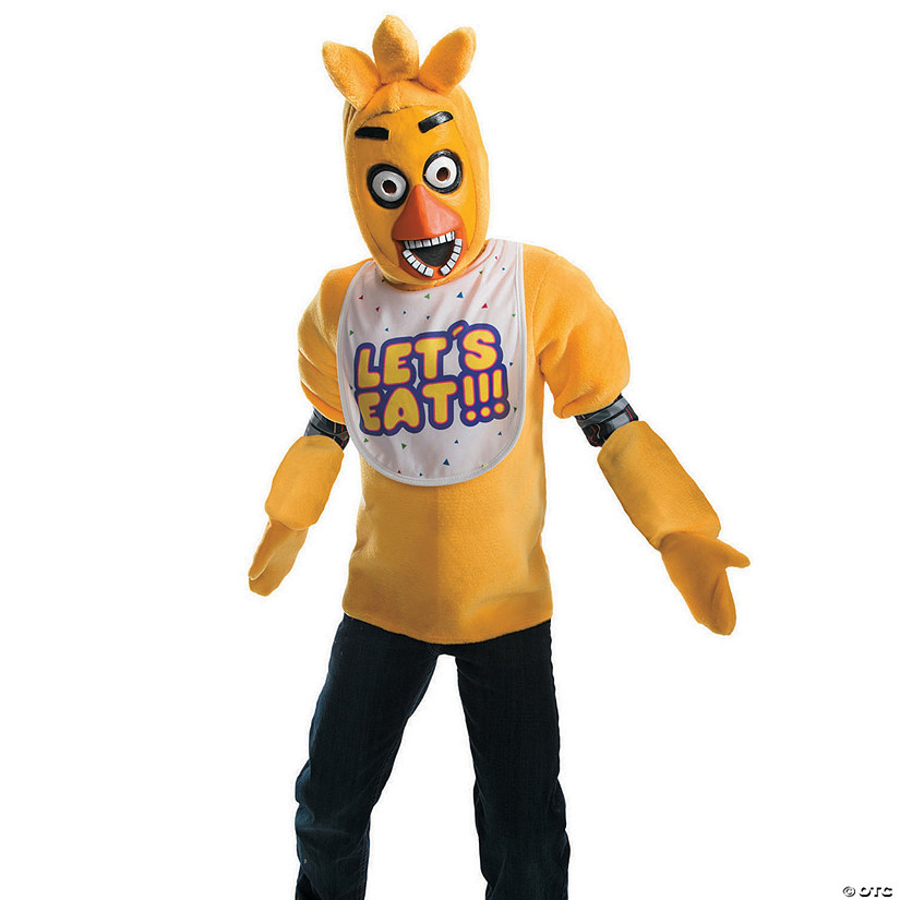 Kid's Deluxe Five Nights at Freddy's Chica Costume Audio Thumbnail