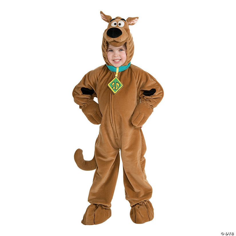 Kid's Deluxe Velour Scooby-Doo Costume Audio Thumbnail