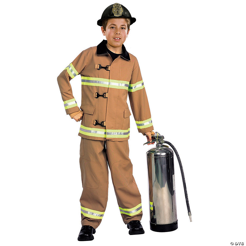 Kid's Firefighter Costume Audio Thumbnail