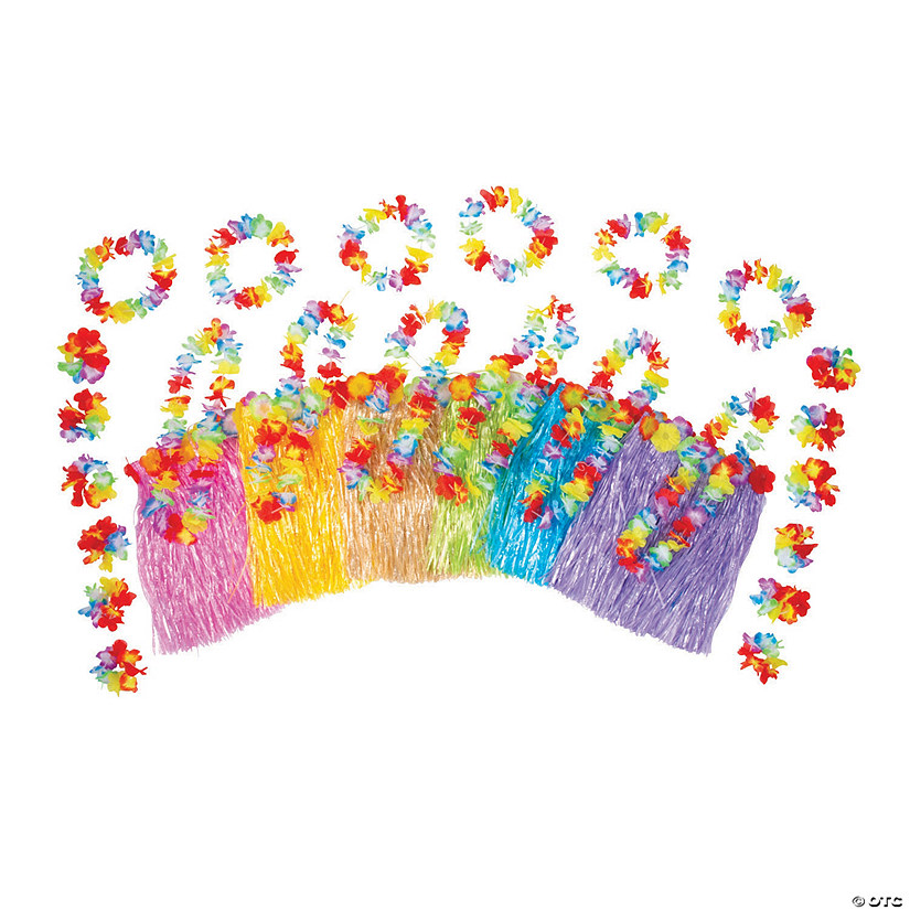 Kid's Multicolor Hula Kits for 12 Image Thumbnail