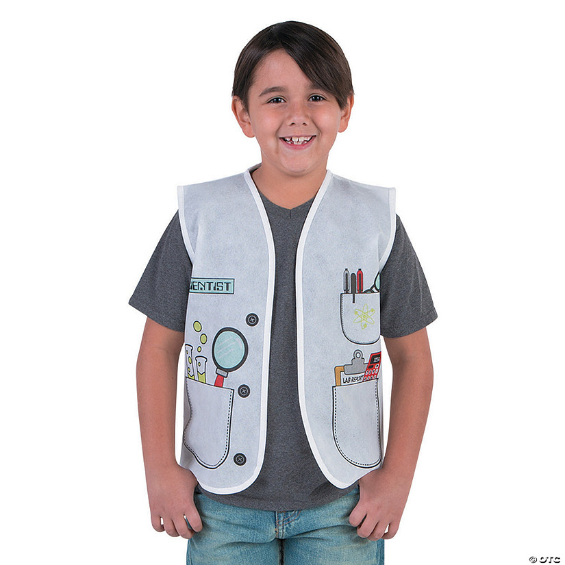 Kid's Scientist Vest Audio Thumbnail