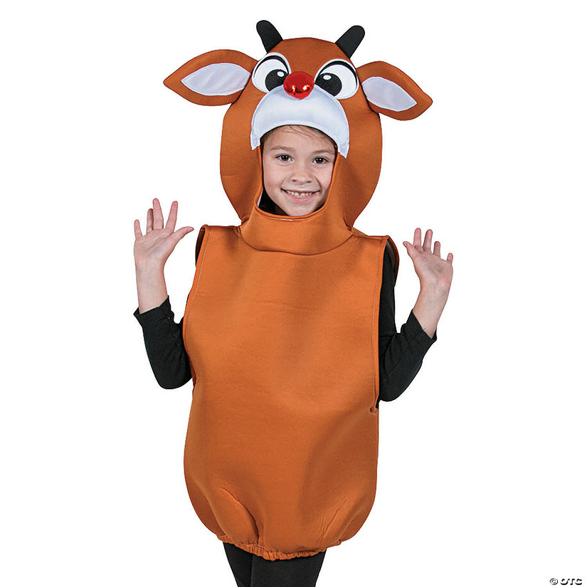 Kid&#8217;s Shiny Nose Rudolph the Red-Nosed Reindeer<sup>&#174;</sup> Costume Audio Thumbnail