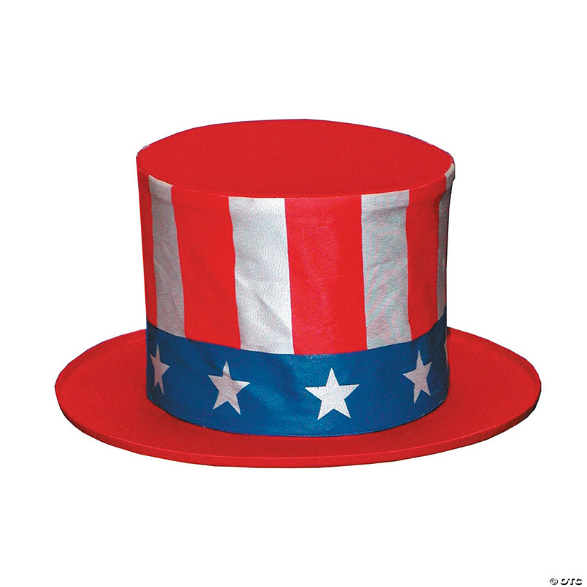 Kid's Uncle Sam Collapsible Hat