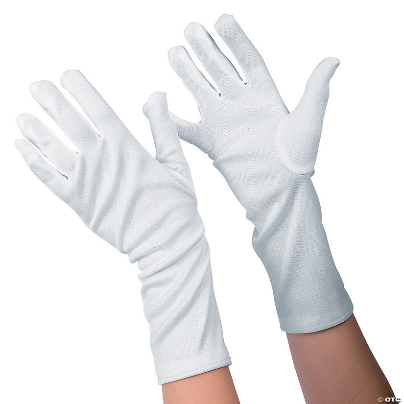 Kid's White Long Gloves Audio Thumbnail