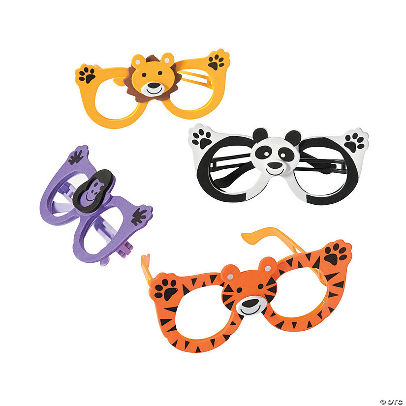 Kid's Zoo Animal Glasses Assortment Audio Thumbnail