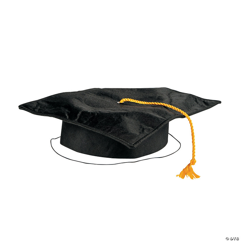 Kids' Black Elementary School Graduation Mortarboard Audio Thumbnail