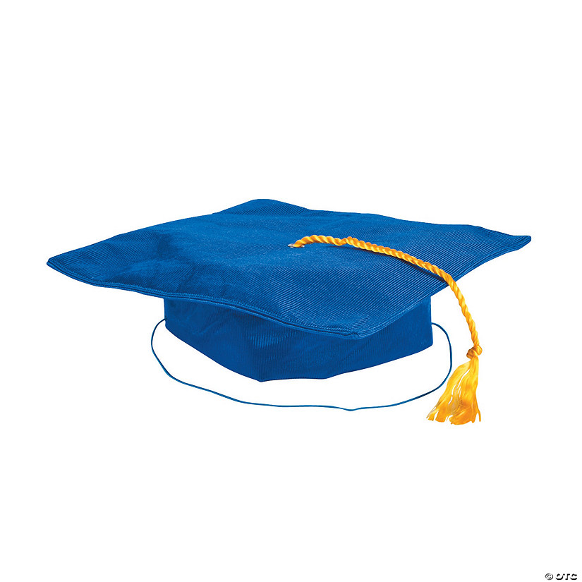Kids' Blue Elementary School Graduation Mortarboard Audio Thumbnail